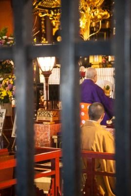 Sensoji Temple - monks