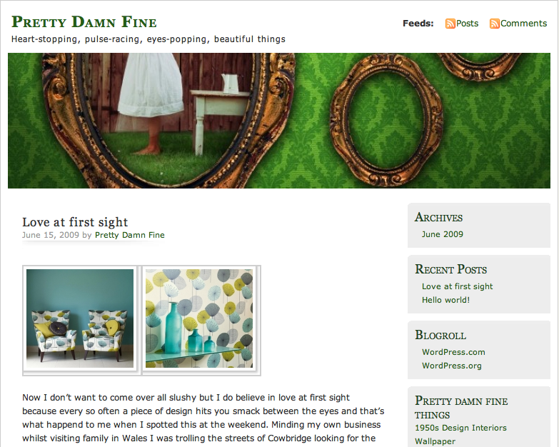 Abi Jackson's Pretty Damn Fine Blog at http://prettydamnfine.co.uk/