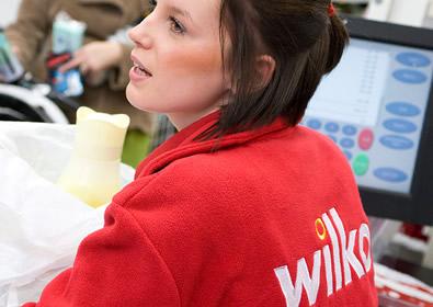 The new Wilkos staff uniform