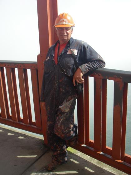 Michael - One of 38 Golden Gate Bridge painters
