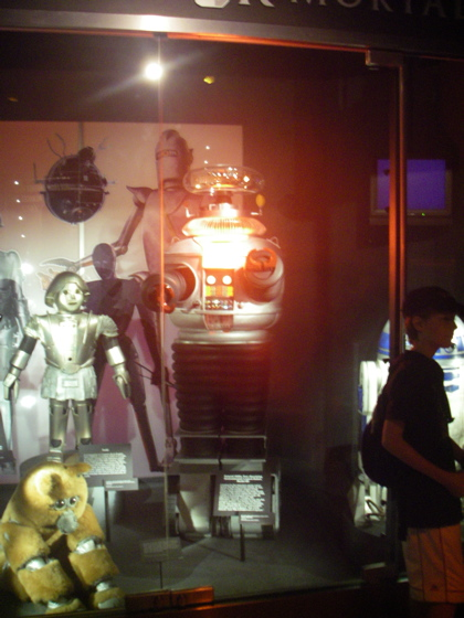 The Sci Fi museum has much more traditional but beautiful exhibits
