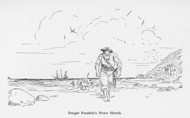 D Franklin Pirate Scene_David Goes Voyaging