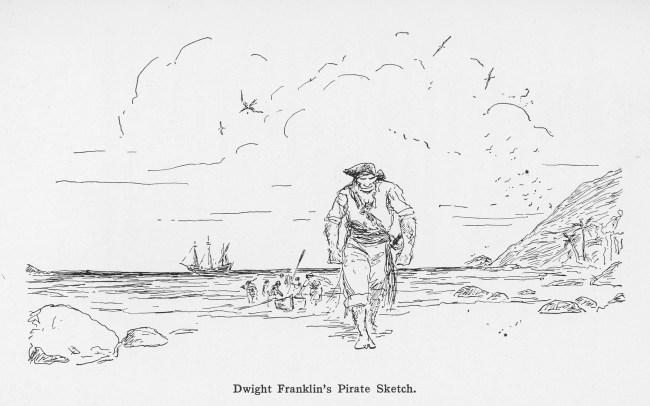 D Franklin Pirate Scene_David Goes Voyaging