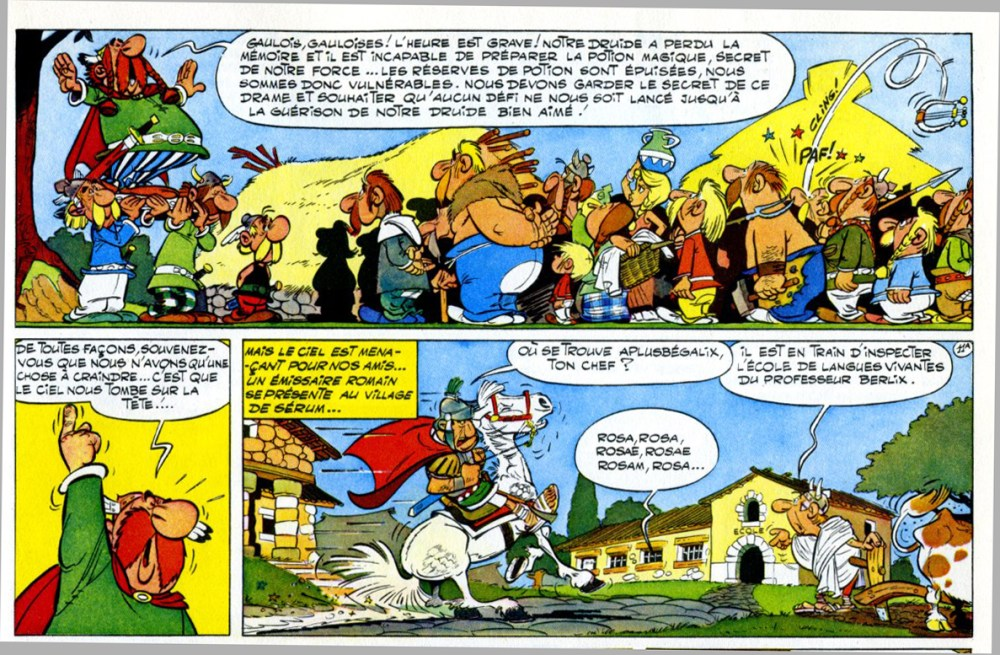 Asterix le Gaulois is 50 years old! (3/4)