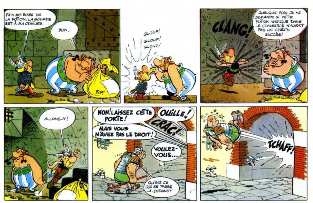 Asterix le Gaulois is 50 years old! (4/4)
