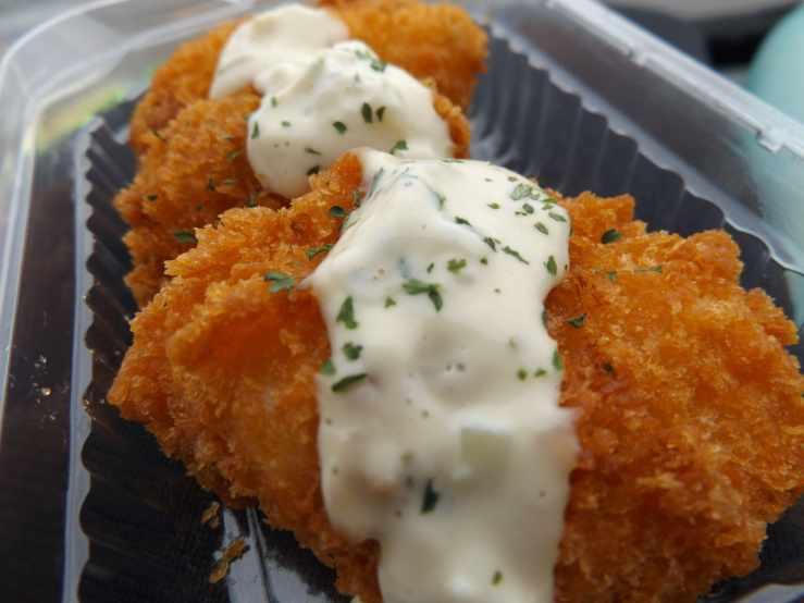 tartar sauce fish photo