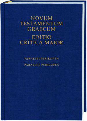 040221273 novum testamentum graecum editio critica maior ecm