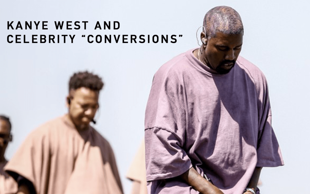 "Kanye West and celebrity ""conversions"""