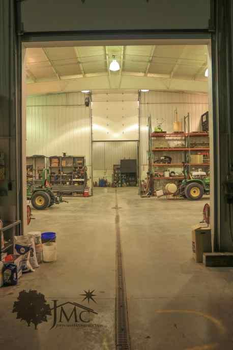 Interior Dividing Garage in Nappanee, Indiana