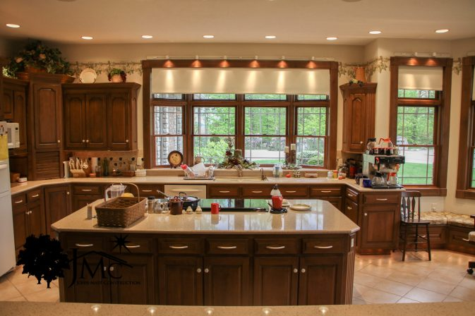 Large Modern Kitchen in Bremen, Indiana