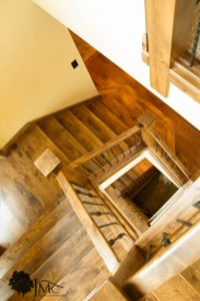 Three Level Stairs in Bremen, Indiana