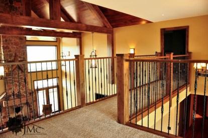 Walkway Upstairs Balcony in Bremen, Indiana