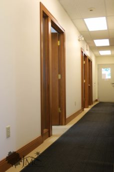 Hallway in Offices in Nappanee, Indiana