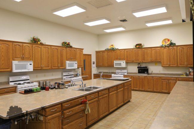 Large church kitchen in Goshen, Indiana