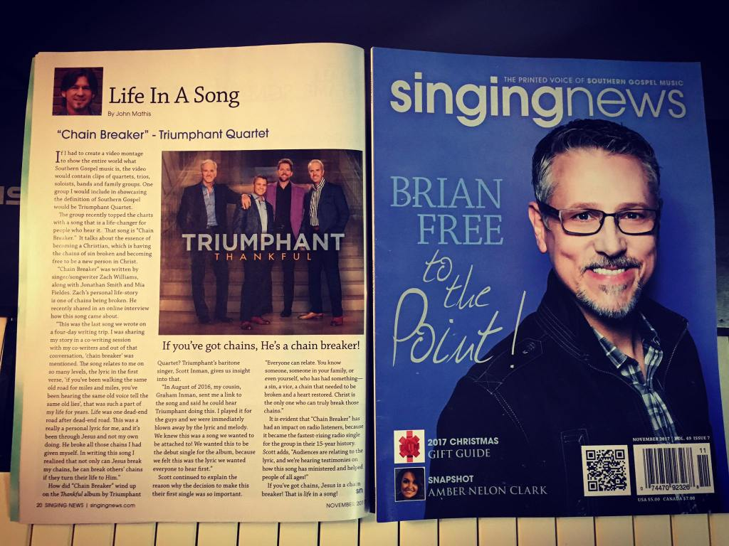 Singing News, Southern Gospel Music, Southern Gospel, Singing News Top 80, Behind The Song, Life In A Song, Songwriter, Southern Gospel Songwriter