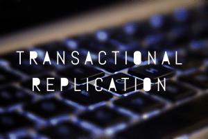 sql server replication basics
