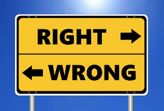 right or wrong sign for dbcc checkdb