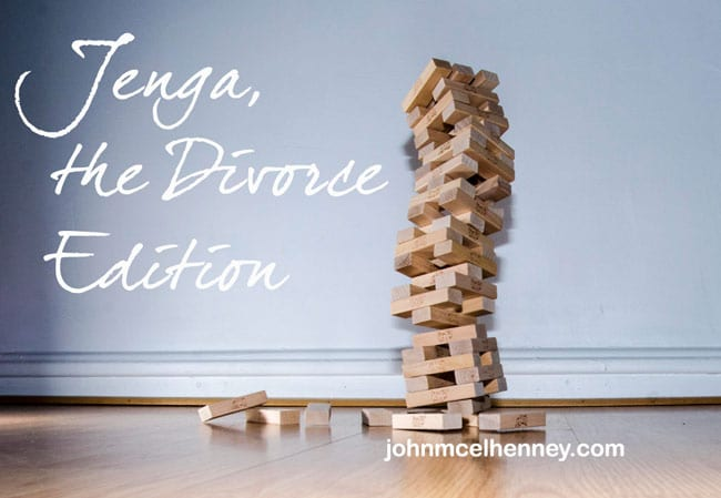 Rising Strong: Jenga, the Divorce Edition