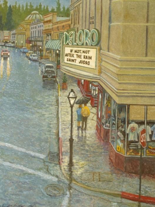 Del Oro Rain - Archival Digital Print - 19 x 14 inches