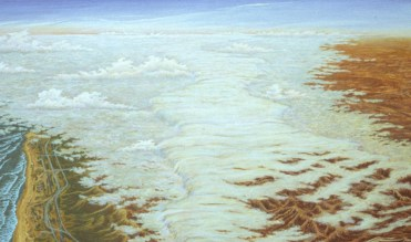 Above - Acrylic/canvas - 36 x 60 inches