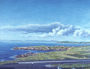 La Coruña - Oil/canvas - 24 x 36 inches