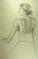 Mondy - Pencil/paper - 7 x 10 inches