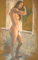 Mondy 2 - Oil/canvas - 13 x 21 inches