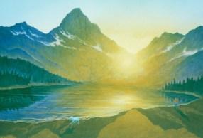 Lake 2 - Acrylic/masonite - 32 x 45 inches