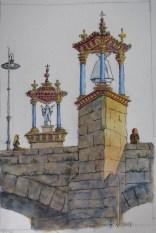 Puente 2 - Watercolor - 7 x 10 inches