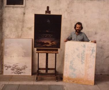 Portrat of the artist, Oakland 1973