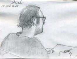 Micah - Pencil/paper - 5 x 8 inches