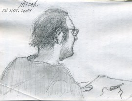 Micah - Pencil/paper - 5 x 8 inches