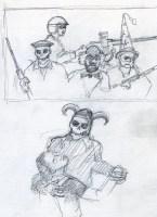 War Sketch 4 - Pencil/paper - 5 x 7 inches