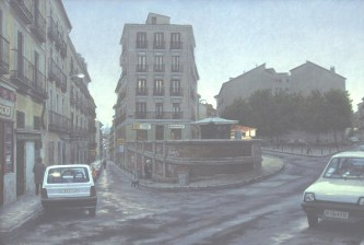 Crepúsculo Madrid - Oil/canvas - 30 x 44 inches