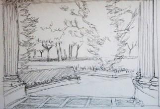 Viveros 2 - Pencil/paper - 7 x 10 inches