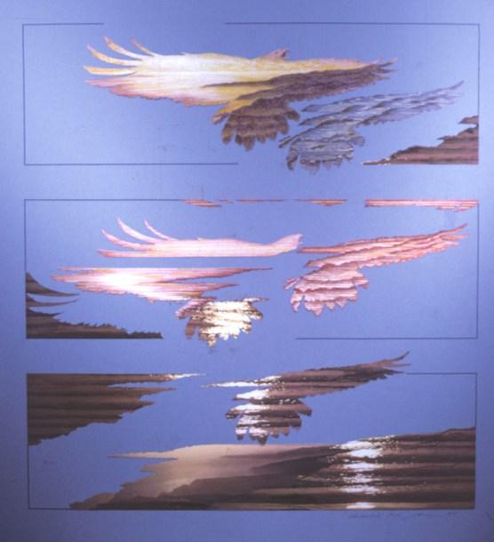 Horus 2 - Collage - 18 x 24 inches
