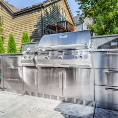 Outdoor Kitchen Cabinets Stainless Steel Model Homes Pictures John Michael Kitchens Best