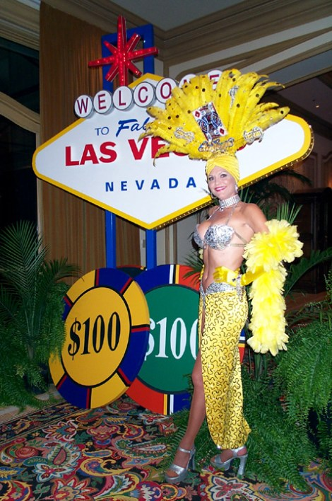 entry to viva las vegas party-john miller events