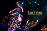 Fan Halen band-on stage in las vegas