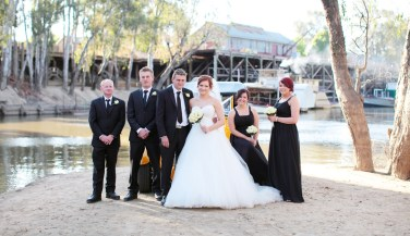 The Bridal Party in Echuca