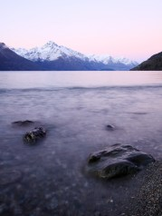 Sunset Photography along Lake Wakitipu.