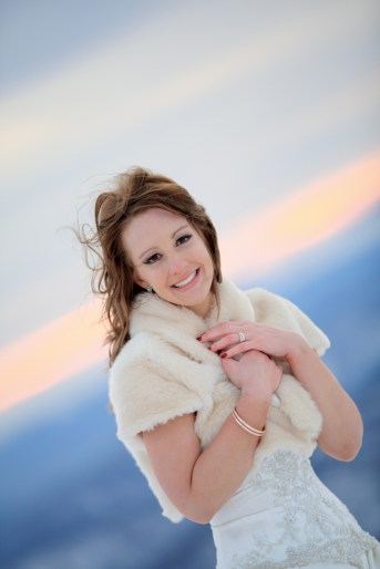 The Bride at Mt Feathertop