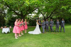 Wedding at Chestnut Tree Apartments Bright
