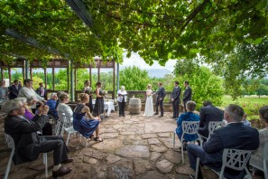 Wedding at Boyntons Feathertop Winery