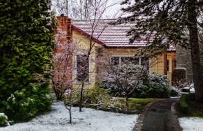 Snowing in stanley