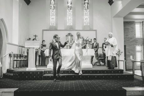 St Patricks Wangaratta wedding 2