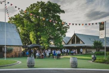 Brown Brothers Winery Barn Wedding