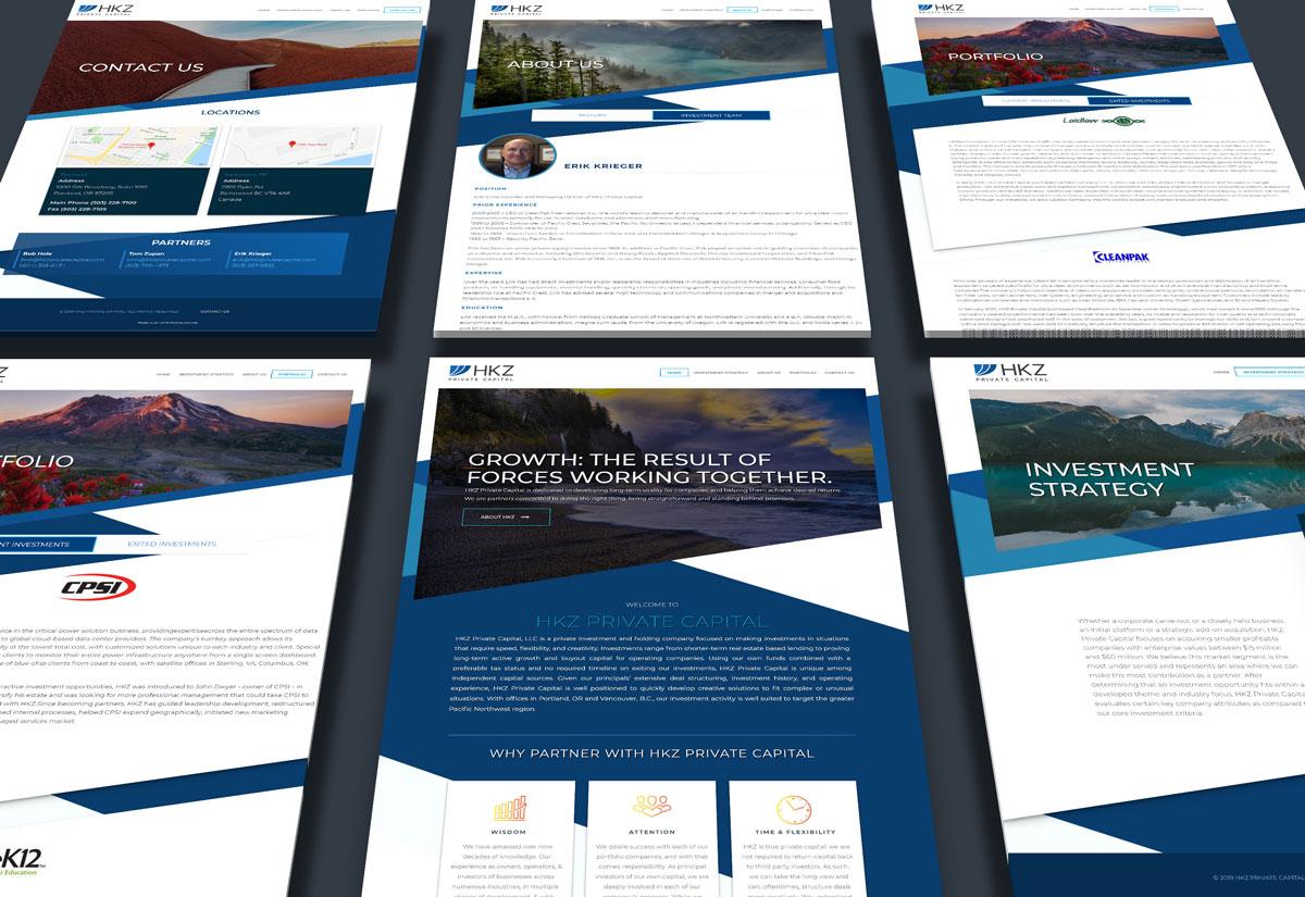 HKZ Private Capital Website Thumbnail