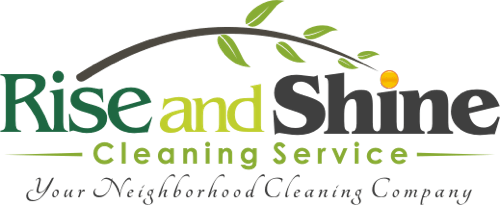 Rise And Shine Cleaning Company Logo