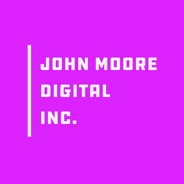 John Moore Digital Inc Logo Variation